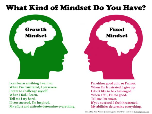 Growth and Fixed Mindset